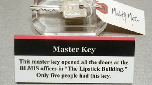 Bernie Madoff's master key is on display at the National Museum of Crime & Punishment.