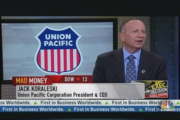 Union Pacific CEO: Keystone Would Be Good For Us
