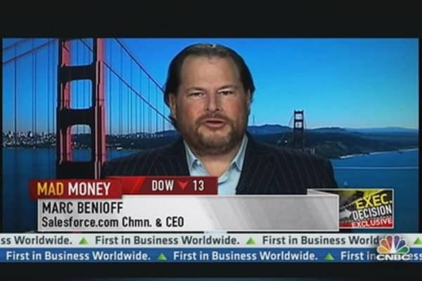 Salesforce.com CEO: Japanese Are Our Largest Customer