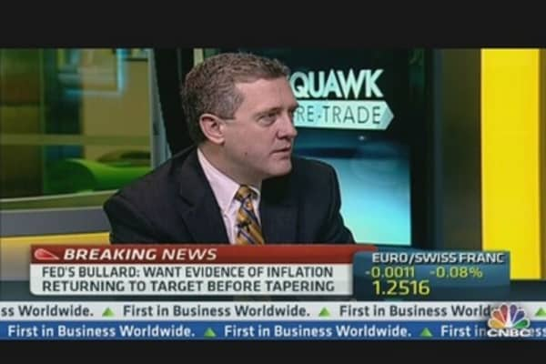 Fed's Tapering Could Be Very Slow: Bullard