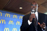 Don Thompson, president and CEO of McDonald's.