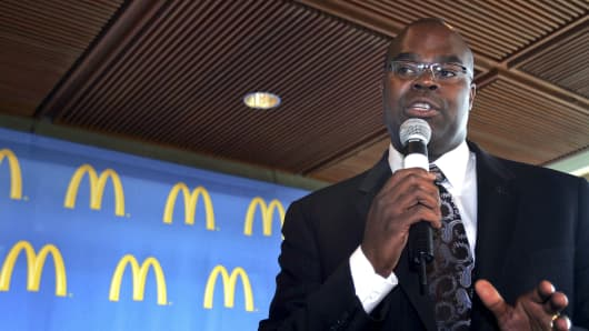 Don Thompson, McDonald's
