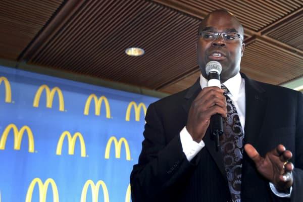 Don Thompson, McDonald's