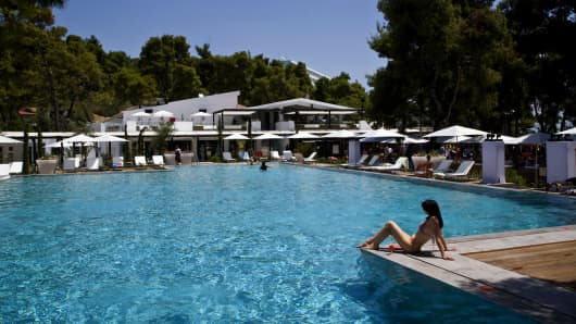 Club Med in Grecolimano, Greece