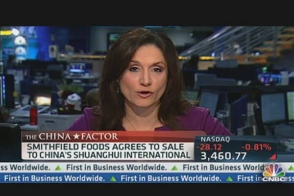 Shuanghui Buys Smithfield Foods in$7.1B Deal