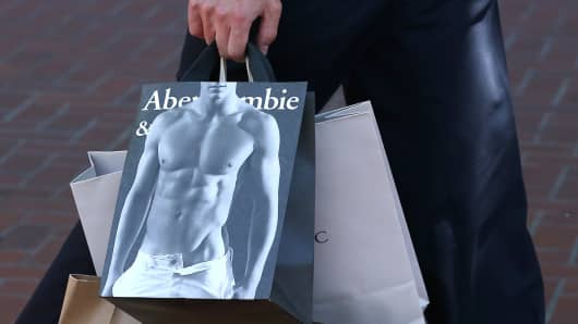 Abercrombie & Fitch says it's in deal talks