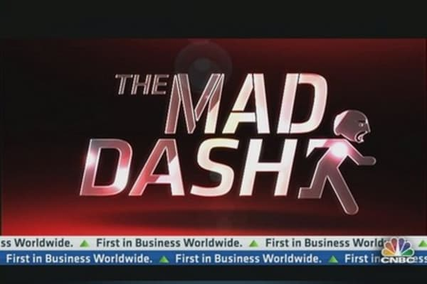 Cramer's Mad Dash: Morgan Stanley Conundrum