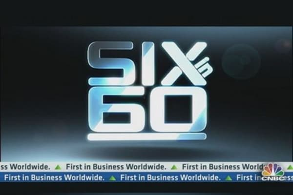 Cramer's Six in 60: Guess, Disney, and More..