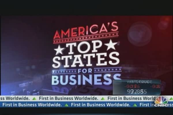 Searching For Top States For Business