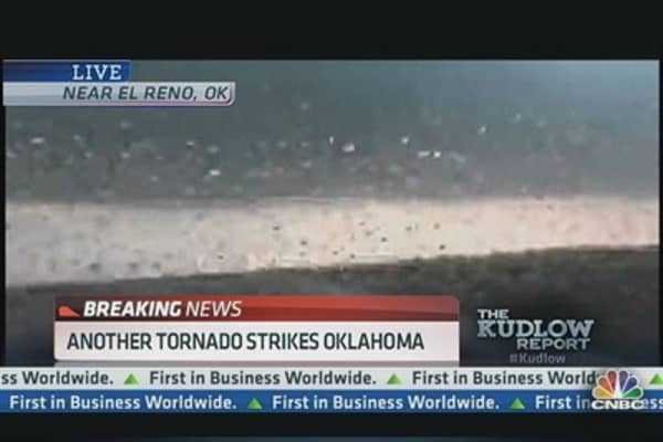 Tornado Hits El Reno