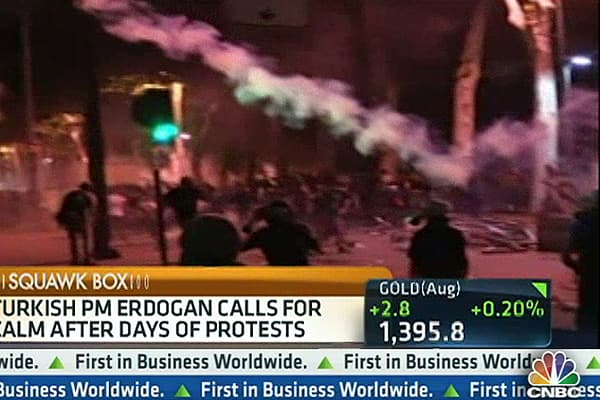 Anti-Government Protests Continue in Turkey