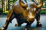 Bull sculpture market