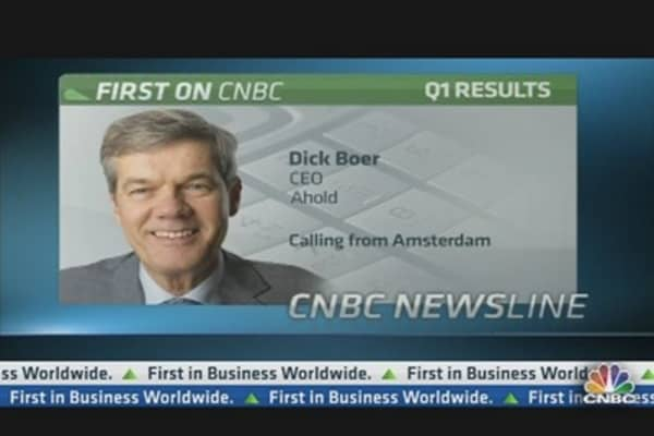 Why We're Cautious About Year Ahead: Ahold CEO