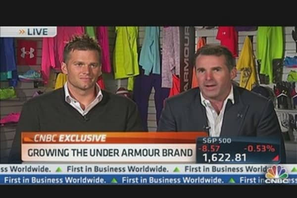 CEO Grows Under Armour Brand With Tom Brady