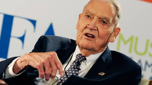 "John C. ""Jack"" Bogle, founder of the mutual fund company Vanguard Group."