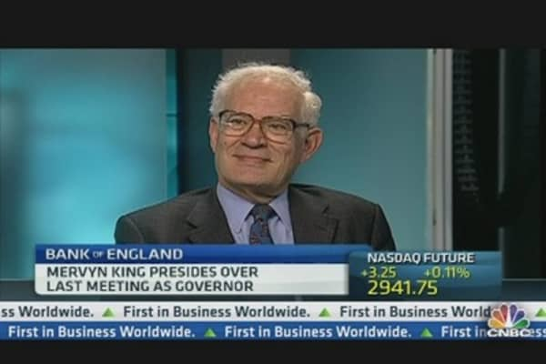 Mervyn King Should Have 'Shouted Louder'