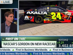 NASCAR's Gordon Unveils New Car