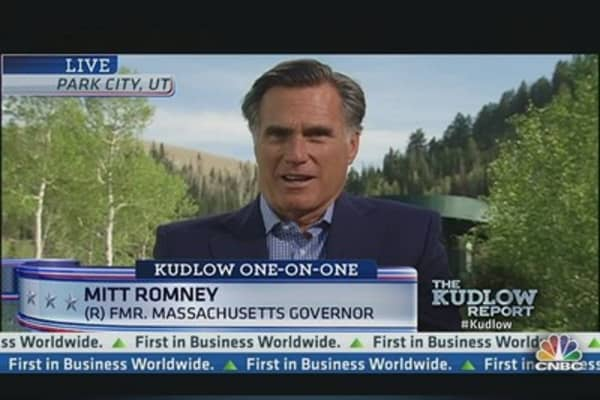 Romney: President's Policies Are Not Helping