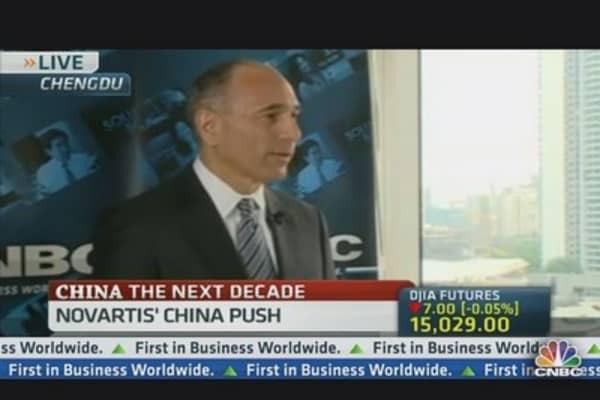 Novartis Bringing Innovation to China: CEO