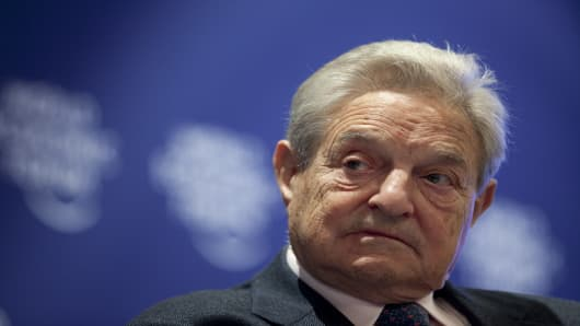George Soros, chairman of Soros Fund Management