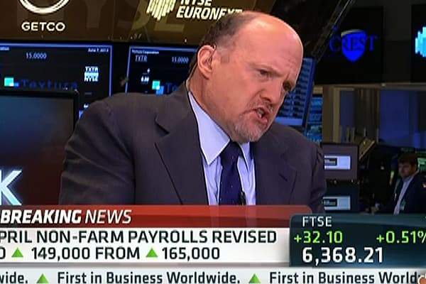 Cramer:  I Don't Care About Tapering Anymore