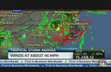 Tropical Storm Andrea Latest