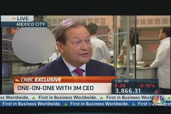 3M CEO: China, Latin America Equal Growth Opportunity