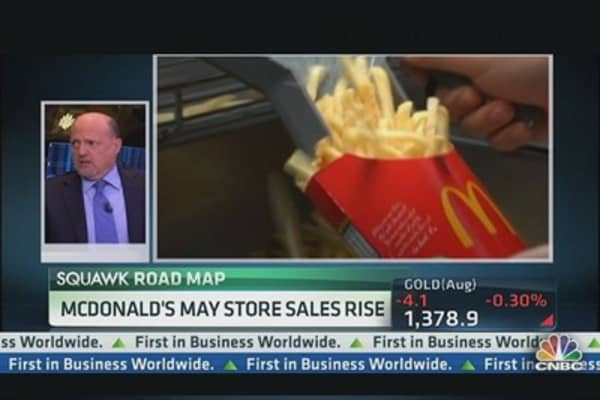 Cramer: McDonald's Beats Apple on Innovation