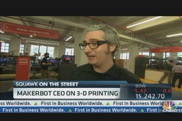 Makerbot Brings 3D Printing to Brooklyn