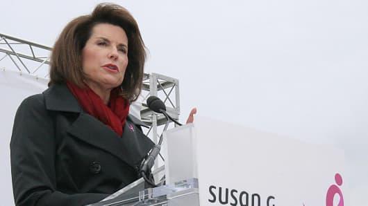 Nancy Brinker, Founder, Susan G. Komen for the Cure.