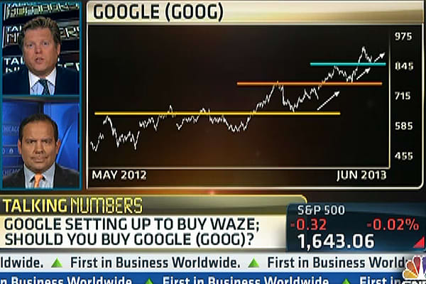 Talking Numbers: Google Buying Waze
