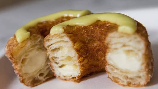 The Cronut, a croissant/donut hybrid created by Chef Dominique Ansel.