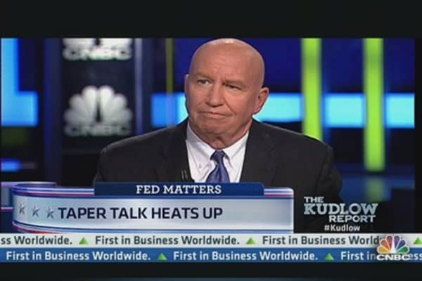 Fed 'Taper Talk' Heats Up