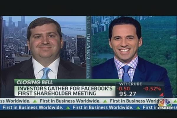 Facebook's Shareholder Meeting