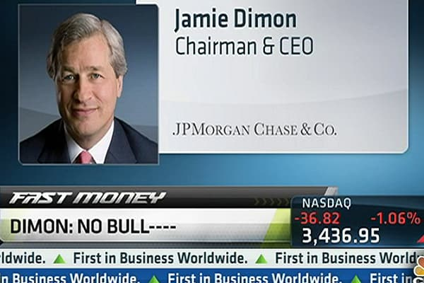 Jamie Dimon: 'There Was No Bull----!'