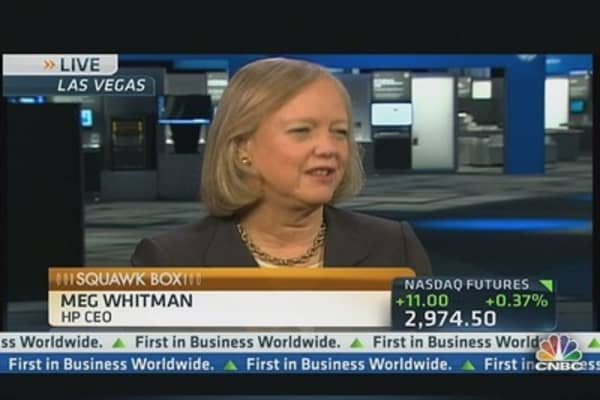 HP's CEO Promotes Turnaround & Tech Innovation