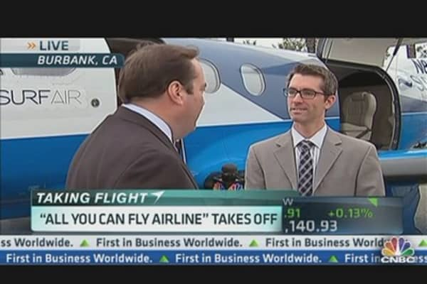'All You Can Fly' Airline Takes Off