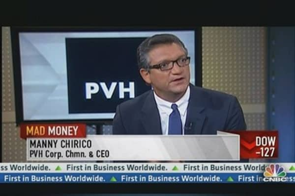 PVH Corp. CEO on May Sales & Calvin Klein Plans