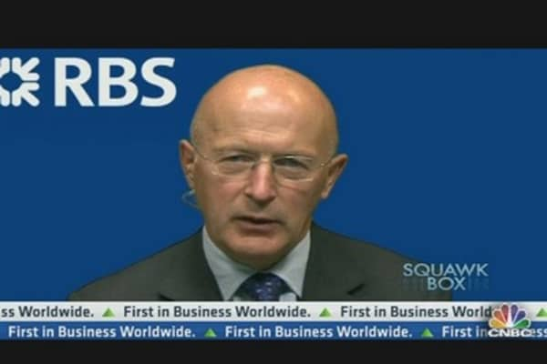 A New CEO Is the Right Thing for RBS: Chairman