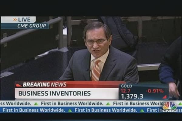 Business Inventories Up 0.3% in April