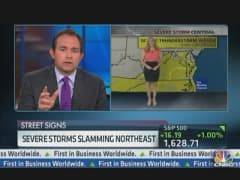 Severe Storms Slam Northeast