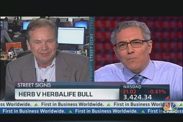 Herb vs. Herbalife Bull