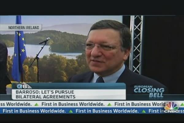 EU Should Pursue Bilateral Deals: EU's Barroso