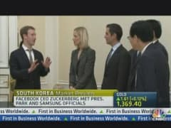 Mark Zuckerberg Ditches Hoodie For Suit in Seoul