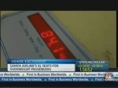 Airline Opens XL Seats for Obese Clients