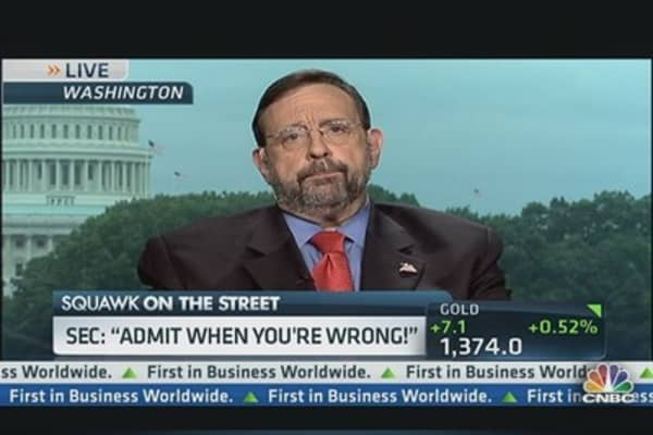 SEC: 'Admit When You're Wrong!'