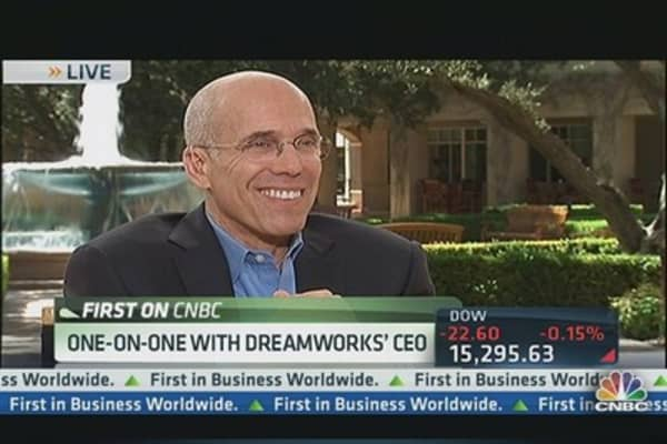 DreamWorks CEO's 'Really Good Arrangement' With Netflix