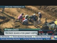 FBI Ends Search For Hoffa