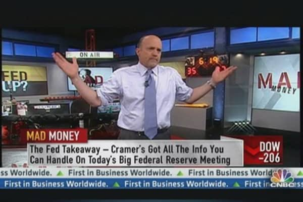 The Fed Takeaway With Cramer