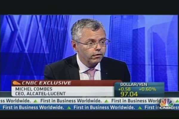Alcatel Lucent CEO: Refocusing on Growth Engines